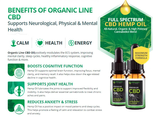 Organic Line CBD Oil [Modify 2021] Price, Scam, Reviews, Ingredients?