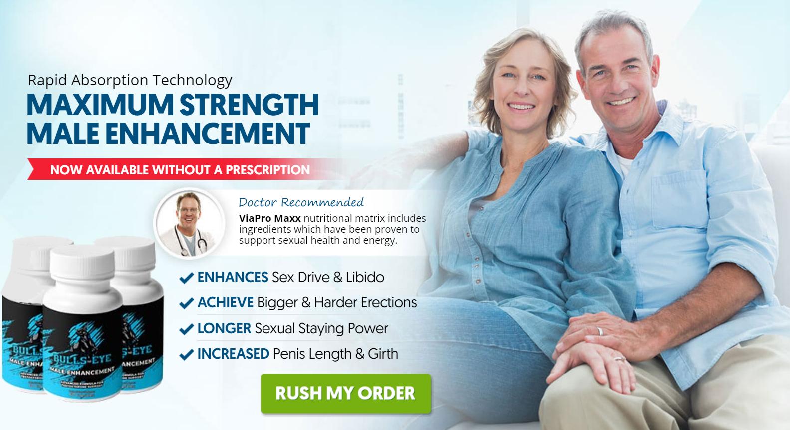 Bulls Eye Male Enhancement® [UPDATE 2021] Ingredients, Reviews?