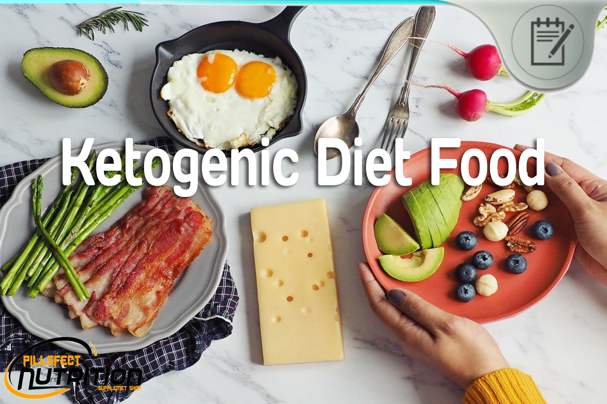 Ketogenic Diet Food - What is a Typical Daily Menu for Keto Diet?