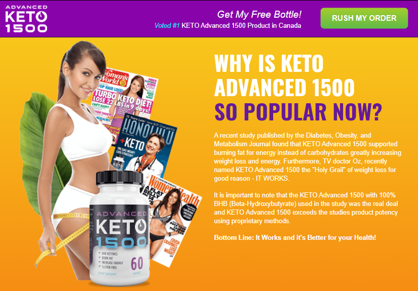 "Keto Advanced 1500 CA (Modify 2021) ""Pros & Cons"" Where to Buy?"