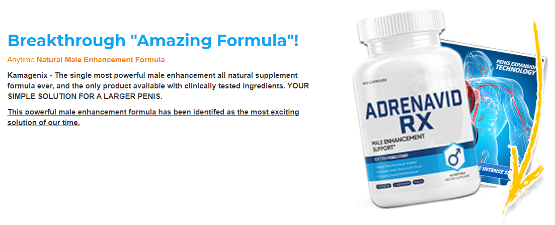 Adrenavid Rx Male Enhancement® *Upgrade 2021* Its Really Works?
