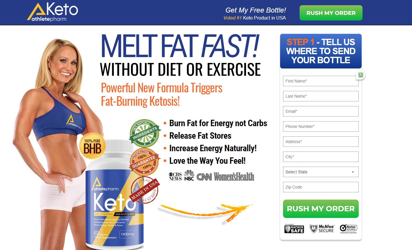 AthletePharm Keto *Modify 2021* Scam or Legit? - Price, Reviews?