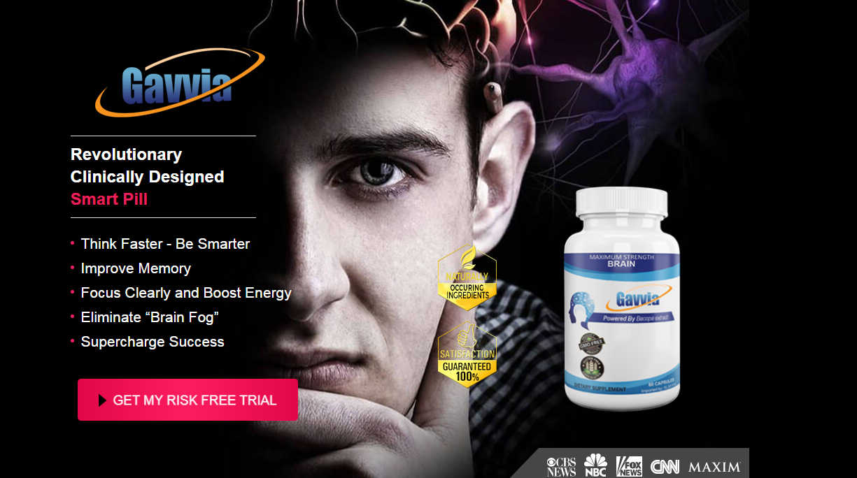 Gavvia Brain Reviews® Guide: [UPDATE 2021] Does Its Really Works?
