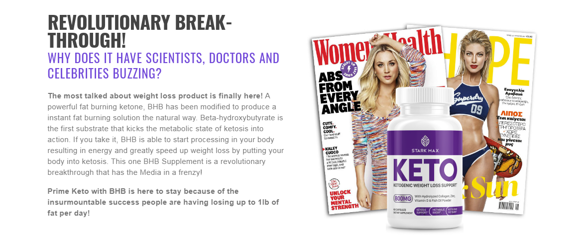 Stark Max Keto - Guide: [Latest Weight Loss Articles] Its Really Works?