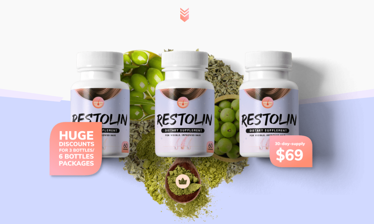 """Restolin Hair Supplement """"Price?"""" (Modify 2021) Does Its Really Works?"""