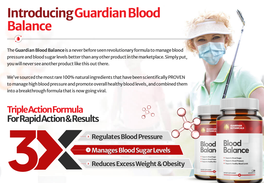 Guardian Botanicals Blood Balance Canada | Does Its Really Works?