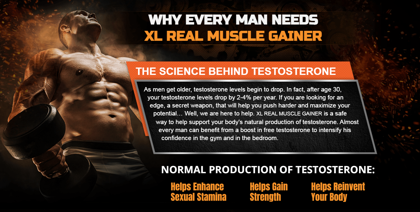 """XL Real Muscle Gainer """"REVIEWS & RESULTS"""" Does Its Really Works?"""