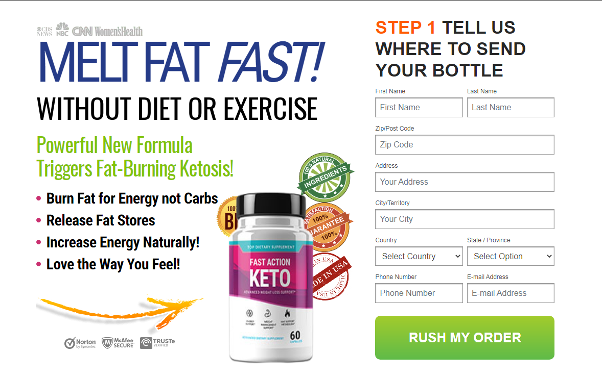 Fast Action Keto Reviews (New 2021) Benefits, Ingredients, Scam, Price?