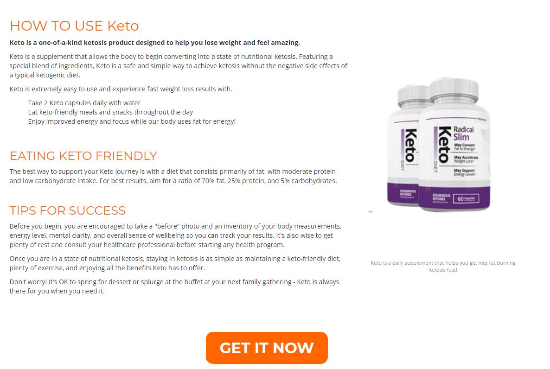 Radical Slim Keto *Is Legit?* Price, Scam, Ingredients, Working, Benefits?