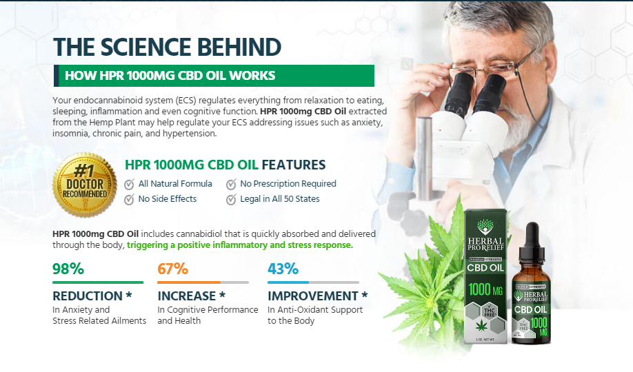 """Herbal Pro Relief CBD Oil """"Latest 2021"""" Scam, Ingredients, Reviews?"""
