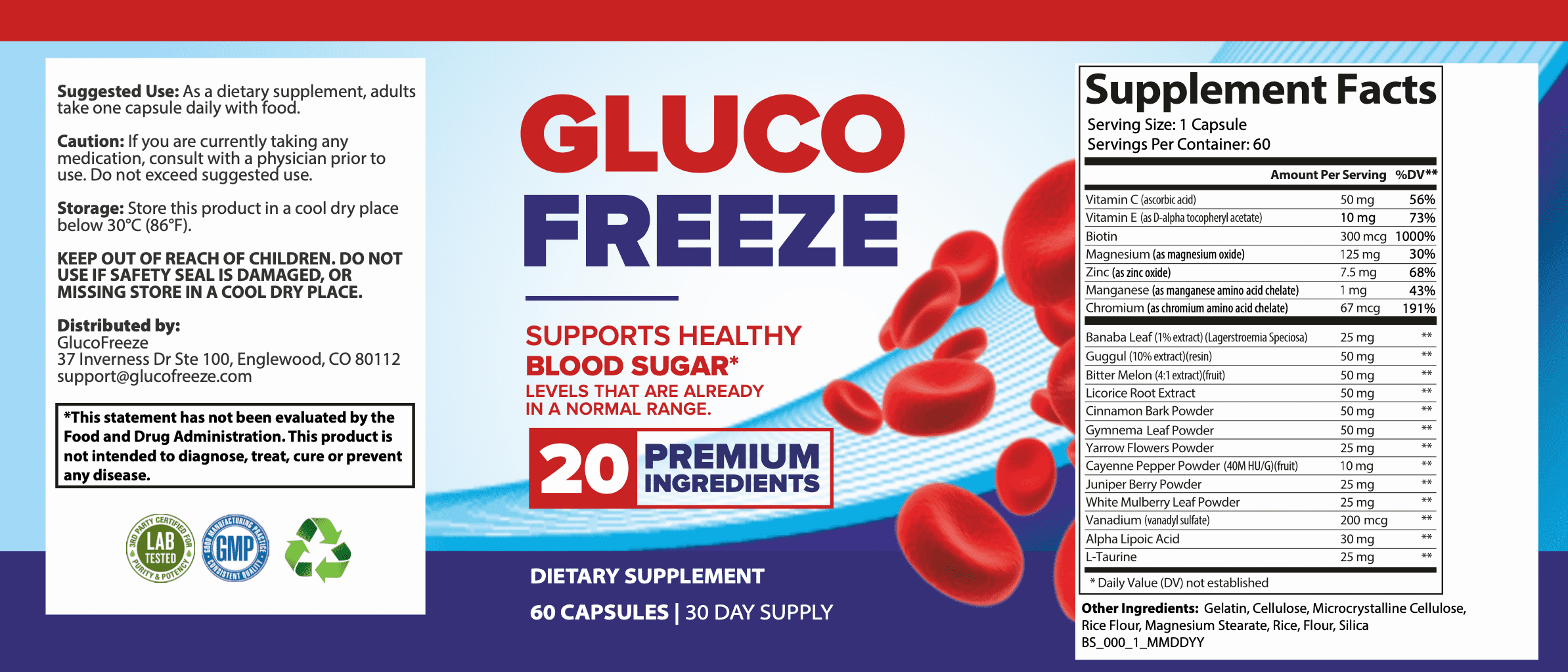 Gluco Freeze ™ - Results & Ingredients, Reviews - Does Its Really Works?