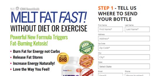 Power Blast Keto : Do Power Blast Keto Diet Work or Scam?