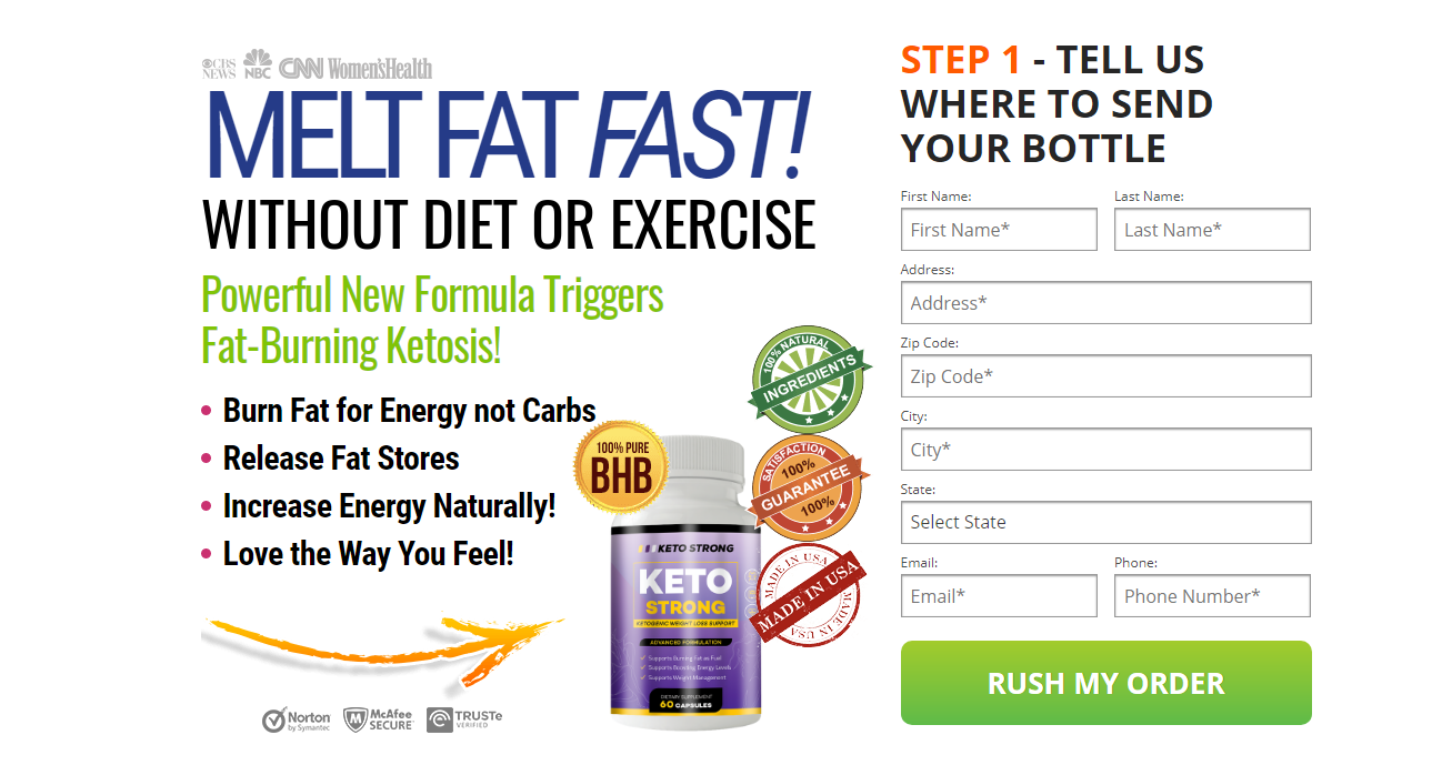 Strong Keto Reviews: Price and Pills Complaints 2021
